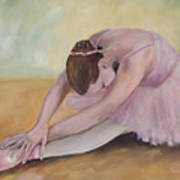 Before The Ballet  Art Print