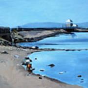 Before The Fog At Castle Island Art Print