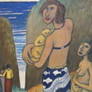 Before The Sea Art Print