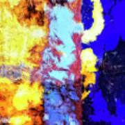 Behind The Curtain 2 Art Print