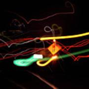 Behind The Lights Art Print
