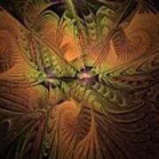 Behold A Universe - Fractal Art Art Print