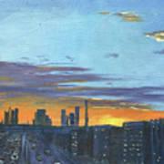 Bei Jing Sunset Art Print