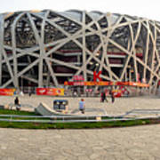 Beijing National Olympic Stadium Art Print