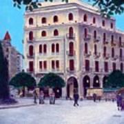 Beirut - Centre Ville Art Print