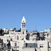 Beit Jala Christian Town Art Print