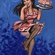 Bekki Art Print by Sheila Tajima