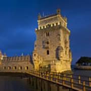 Belem Tower, Lisbon, Portugal Art Print