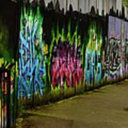 Belfast - Painted Wall - Ireland Art Print