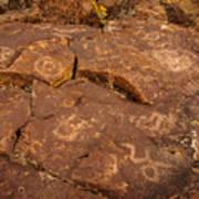 Belfast Petroglyph 6 Art Print
