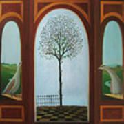 Belgian Triptyck Art Print