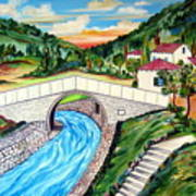 Beli Most Vranje Serbia Art Print
