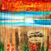 Believe A Faint Memory Incomplete Places Art Print