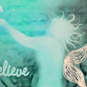 Believe In Fairies Art Print