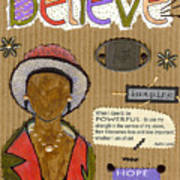 Believe Me Art Print