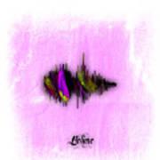 Belive Recorded Soundwave Collection Art Print