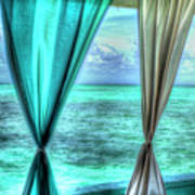 Belize Curtains #1 Art Print