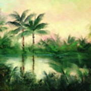 Belize River Art Print