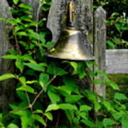 Bell On The Garden Gate  Art Print
