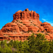 Bell Rock Tower Art Print