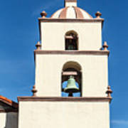 Bell Tower Mission San Buenaventura Art Print