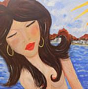 Bella En Rio Art Print