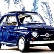 Bella Macchina 8 - Fiat 500 F Art Print