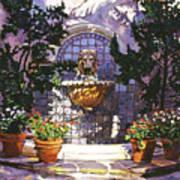 Bellagio Fountain Print by David Lloyd Glover