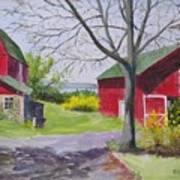Belle Cornell's Lake View Art Print