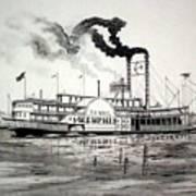 Belle Of Memphis Art Print