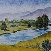 Bellinger Valley In Spring Art Print