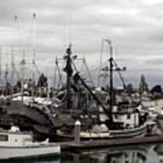 Bellingham Bay Ship Yard Art Print