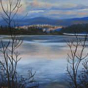 Bellingham In Winter Art Print