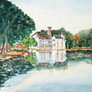 Bellingrath Pond Art Print