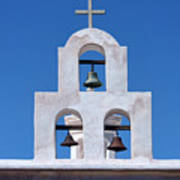Bells - San Xavier Del Bac - Arizona Art Print