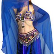 Belly Dance Modeling. Sofia Of Ameynra Art Print
