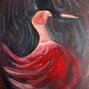 Belly Dancer 3 Art Print
