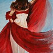 Belly Dancer Art Print