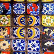 Belmar Tiles By Darian Day Art Print