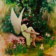 Beltaine Angel Art Print
