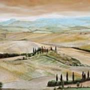 Belvedere - Tuscany Art Print