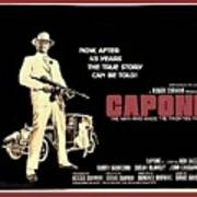 Ben Gazarra British 4 Sheet Theatrical Poster Capone 1975 Color Added 2016 Art Print