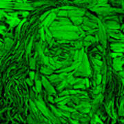 Ben In Wood Green Art Print