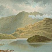 Ben Venue And Ellen's Isle   Loch Katrine Art Print