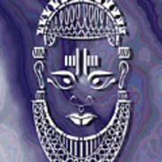 Benin Queen Mother Art Print