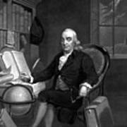 Benjamin Franklin -- The Scientist Art Print