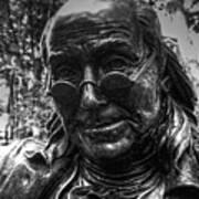 Benjamin Franklin Memorial Art Print