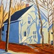 Bennett Street Houses Art Print