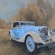 Bentley By Kellner Art Print