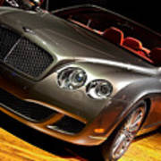 Bentley Continental Gt Print by Cosmin Nahaiciuc